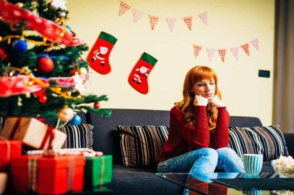 Депресия по Коледа