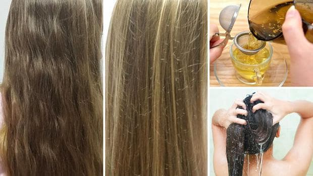 Изсветляване на косата с лайка