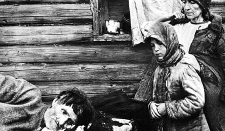 Руски селяни, жертва на глада