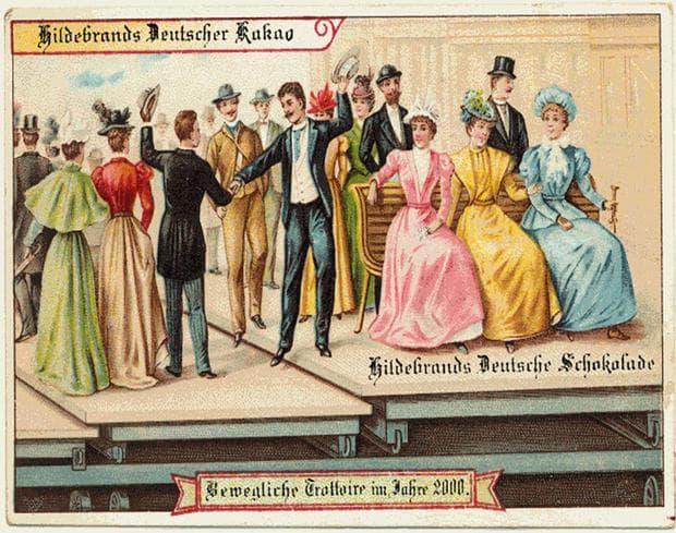 Как изглежда бъдещето през 1900 г.