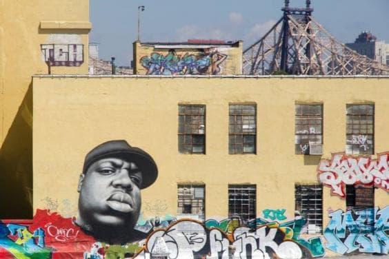 Средище на графити в Ню Йорк
