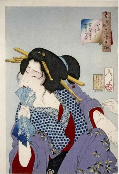 Гравюра на Йошитоши (1839-1892)