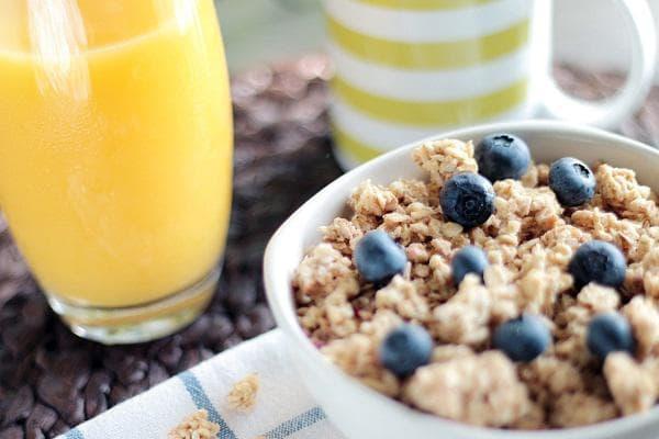 Закуска и сок