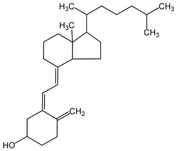 структура на витамин D