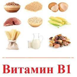храни, богати на витамин В1