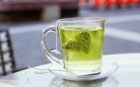 Зелен чай чаша