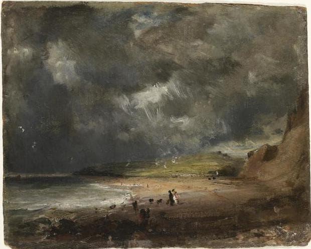 картина, изобразяваща облаците, които опустошават реколтата в Англия през 1816
