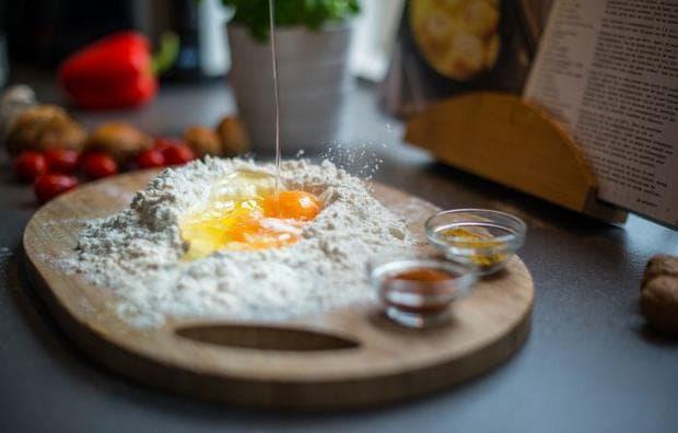 готвене, яйца