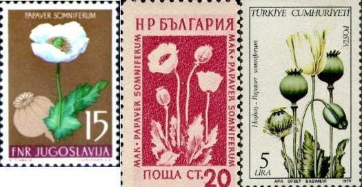 марки с мак