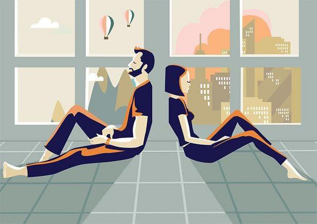 Илюстрация на двойка