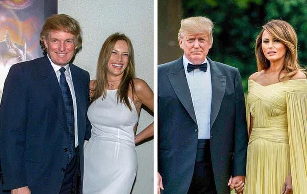 Доналд Тръмп и Мелания