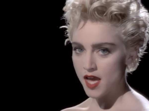 Мадона през 1986 г.
