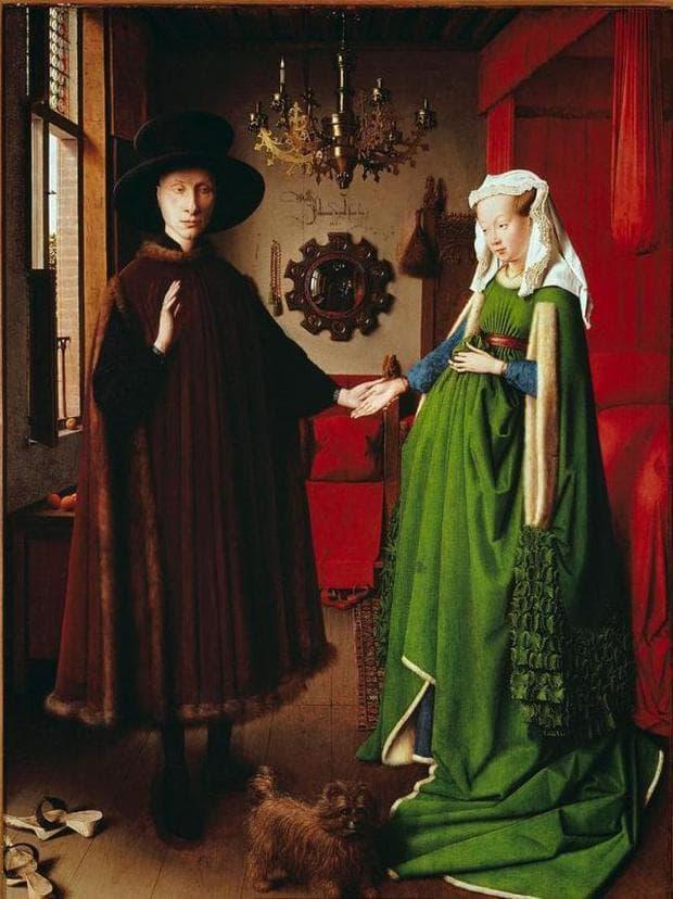 Джовани Арнолфини и неговата съпруга