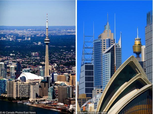 Канада и Австралия