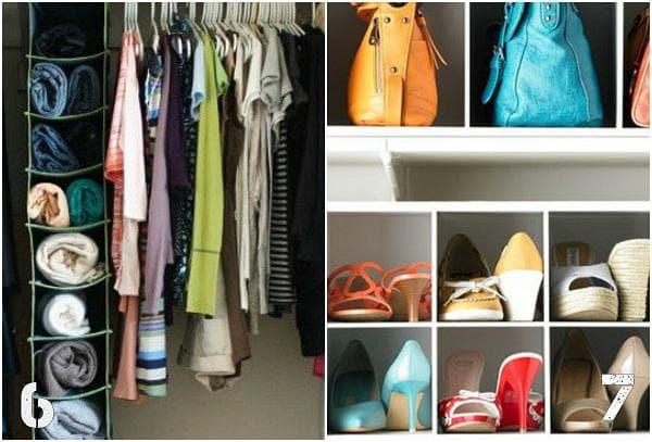 Органайзер за дрехи и обувки