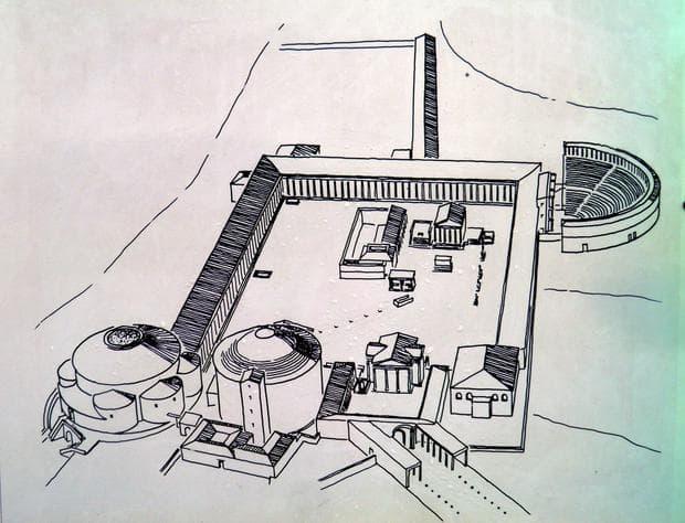 Модел на Асклепиона в Пергам