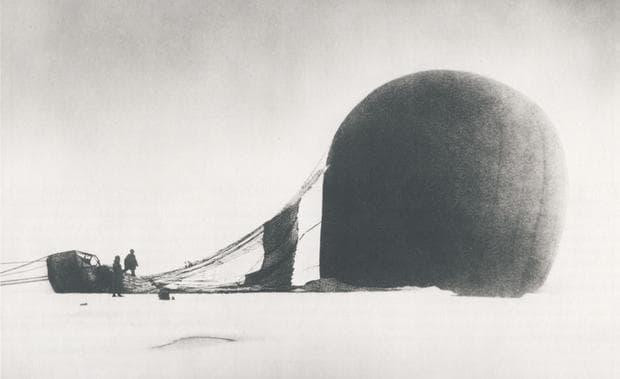 полет с балон до Северния полюс