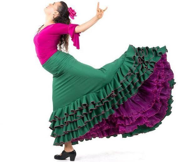 рокля за фламенко