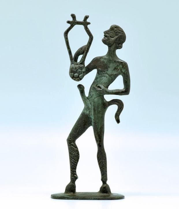 Реплика на статуя на сатир