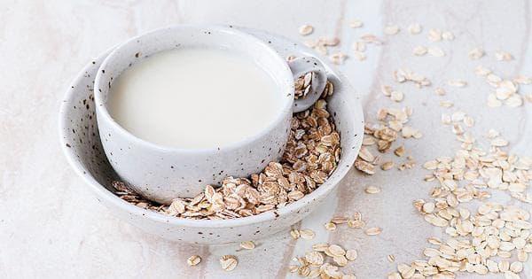 Мляко от овесени ядки
