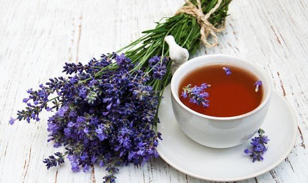 Лавандулов чай