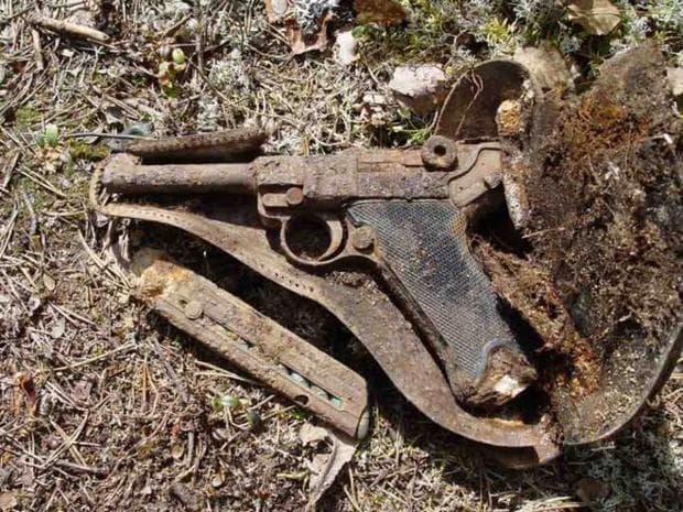 пистолет Парабелум