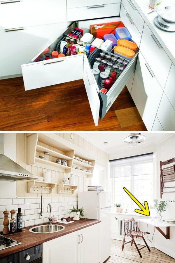 Мебели и чекмеджета, които се трансформират