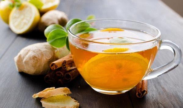 Чай с джинджифил