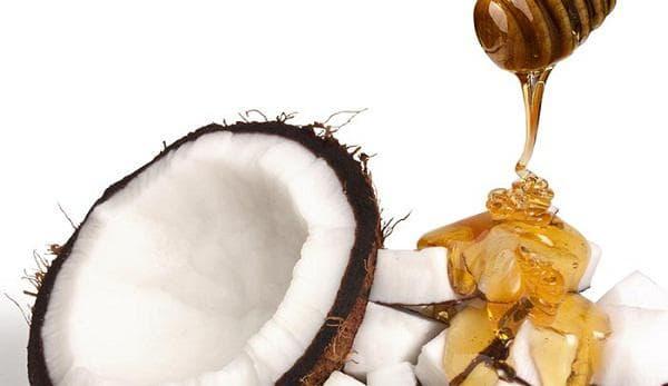Мед и кокосово масло
