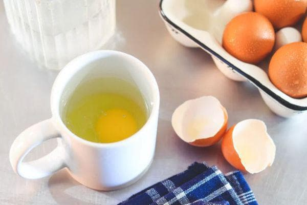 приготвяне на яйцето