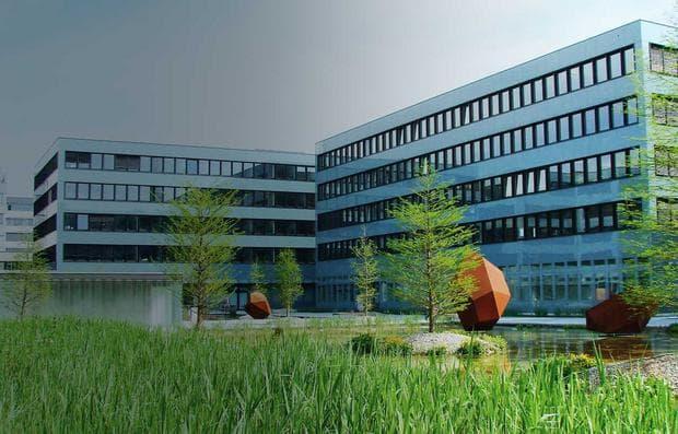 Сградата на Биоген в Цуг
