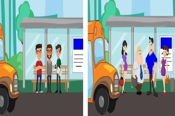 Загадка с автобус