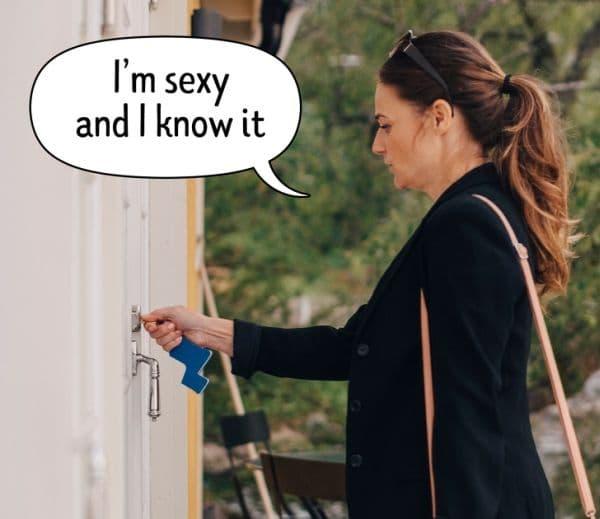 Заключване на вратата