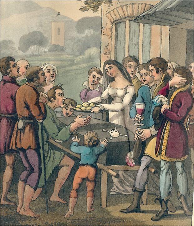 картина, изобразяваща ритуала