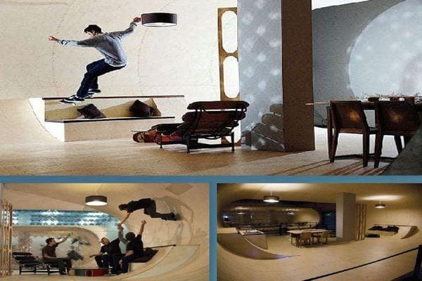 Скейтборд къща