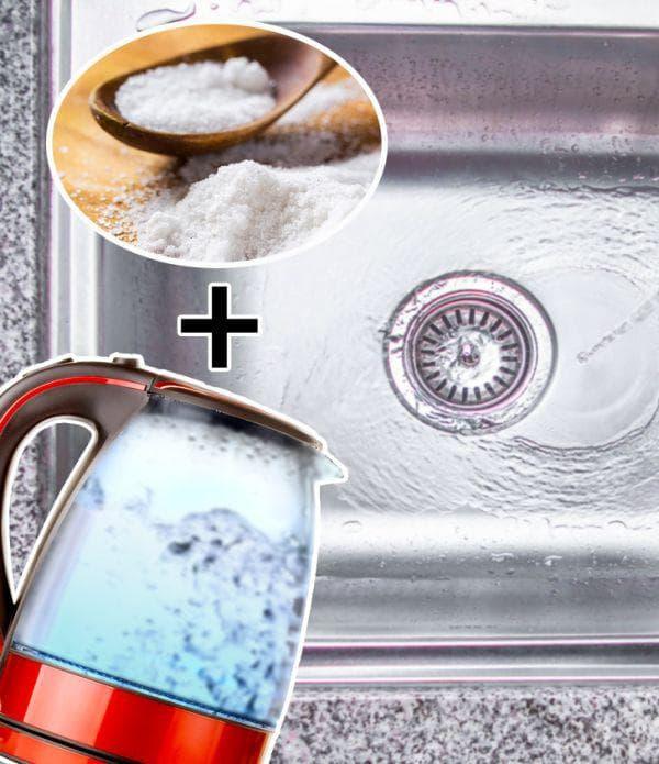 Сол и вряла вода
