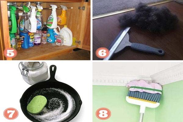 дом почистване, бързо почистване