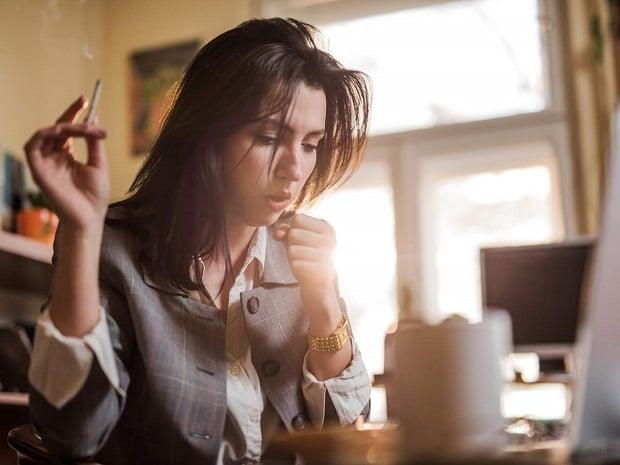 Кашлица при тютюнопушене