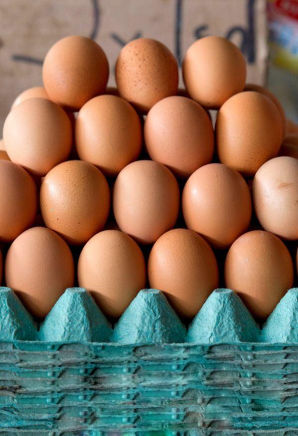Пресни яйца