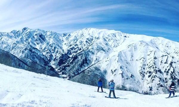Опасни ски курорти - Пистата Хакуба 47 в Япония