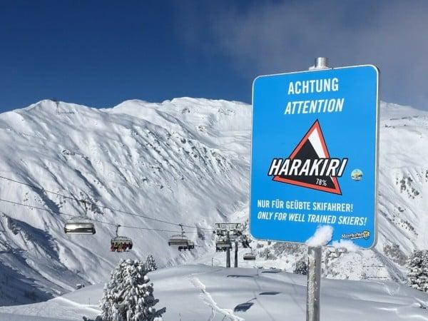 Опасни ски курорти - Пистата Харакири в Австрия