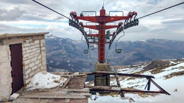 Опасни ски курорти - Изоставените писти на Балканите