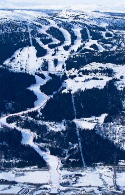 Опасни ски курорти - Пистата Олимпиябакен в Норвегия