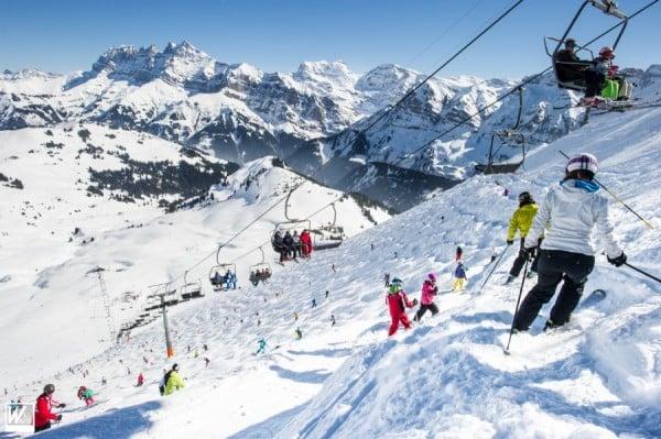 Опасни ски курорти - Пистата Льо Шаване във Франция