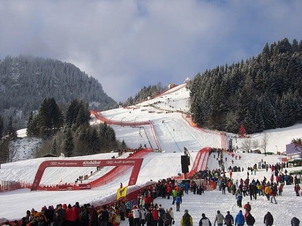 Опасни ски курорти - Пистата Щрайф в Австрия