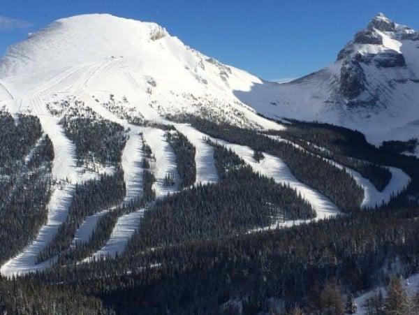 Опасни ски курорти - Пистите в Националния парк Банф, Канада