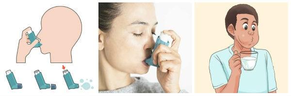 Правилна употреба на дозирани инхалатори