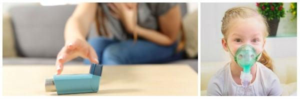 Показания за лечение с инхалатори