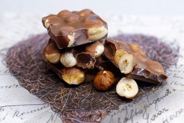 шоколад с лешници