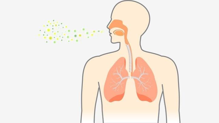 Разпространение пневмония